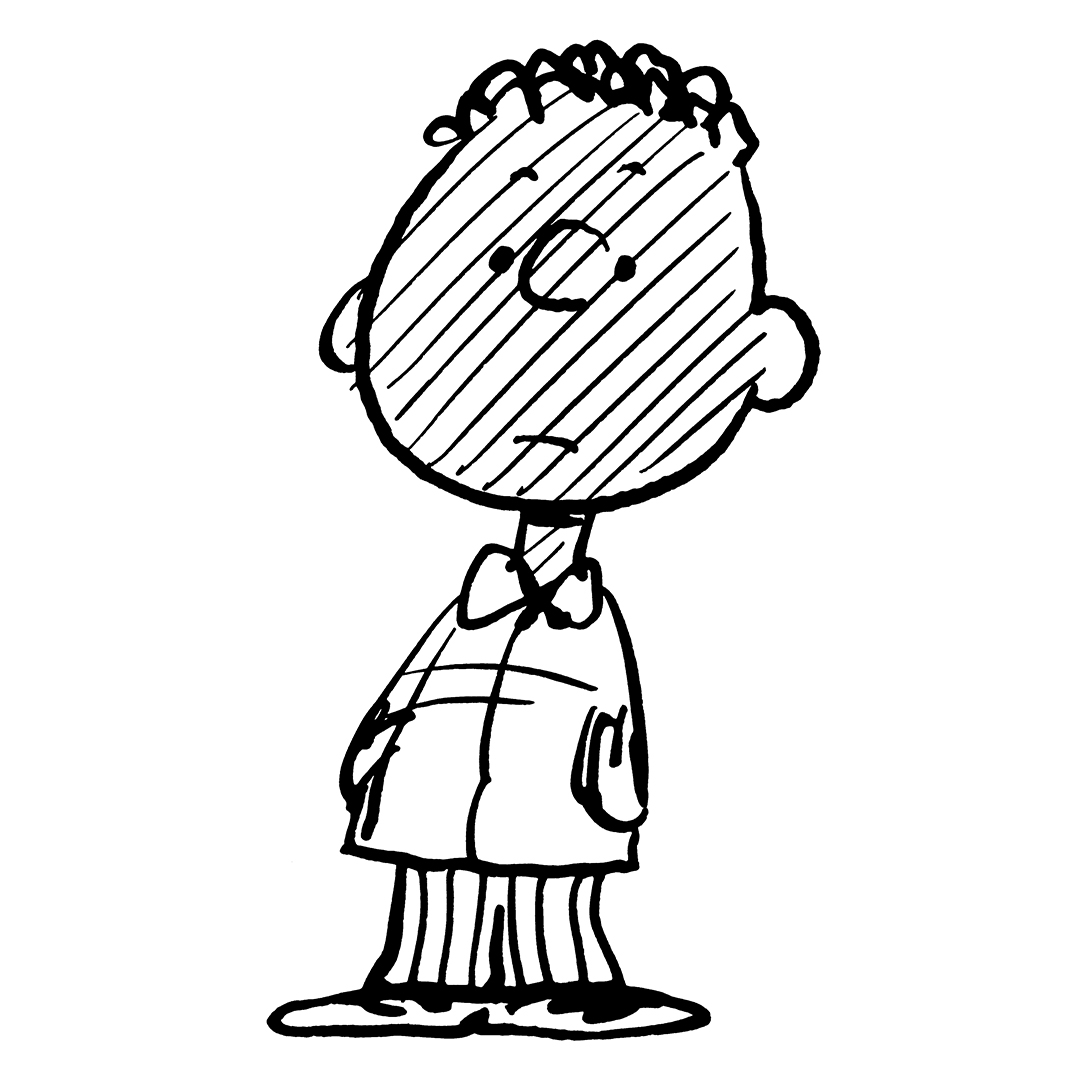 Black and white image of a boy wearing a jacket and pants
