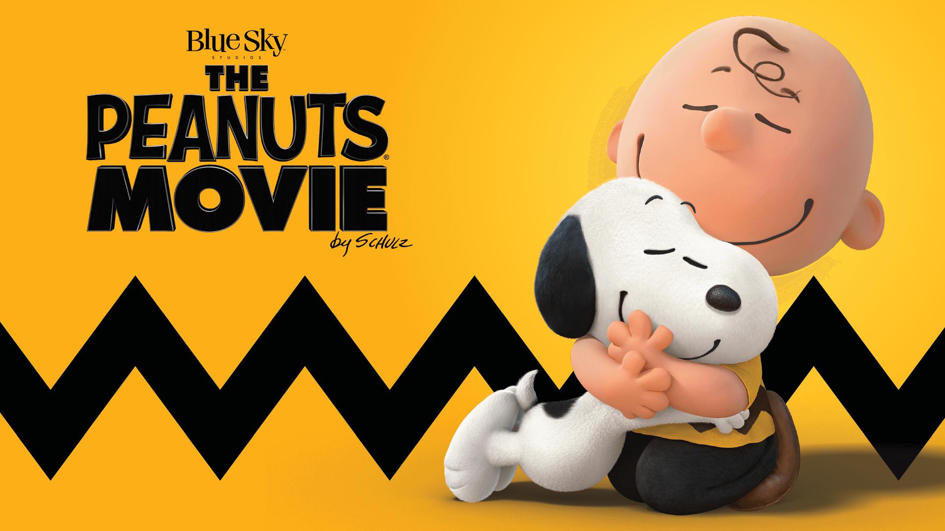 The Peanuts Movie logo by Schulz (Blue Sky Studios)
