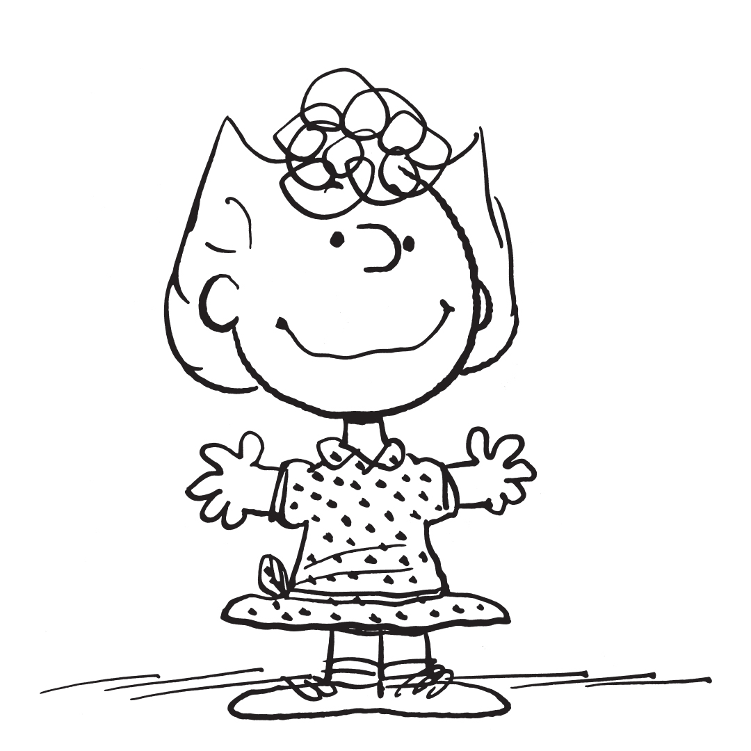 Black and white image of a girl wearing a dress with her arms spread out