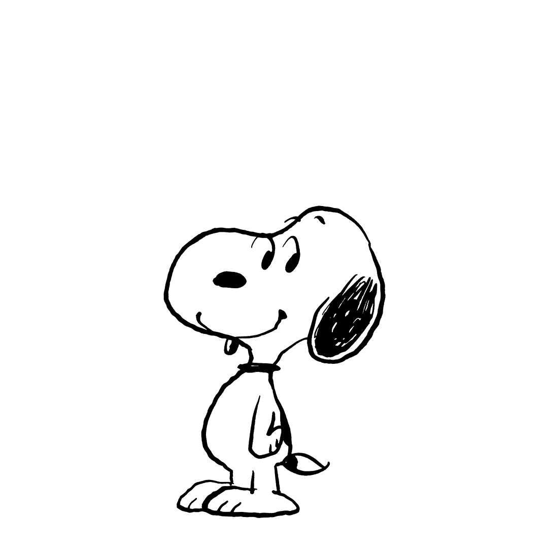 Black and white image of a dog