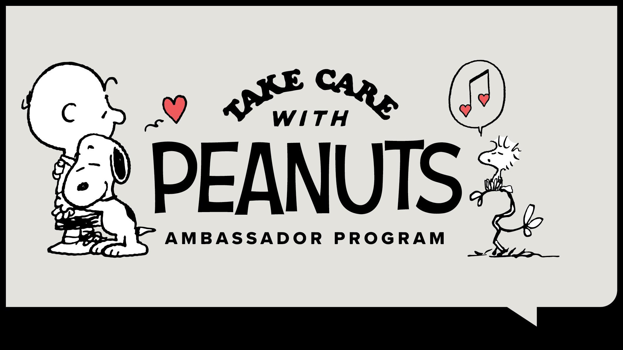 Take Care with Peanuts Ambassador Program
